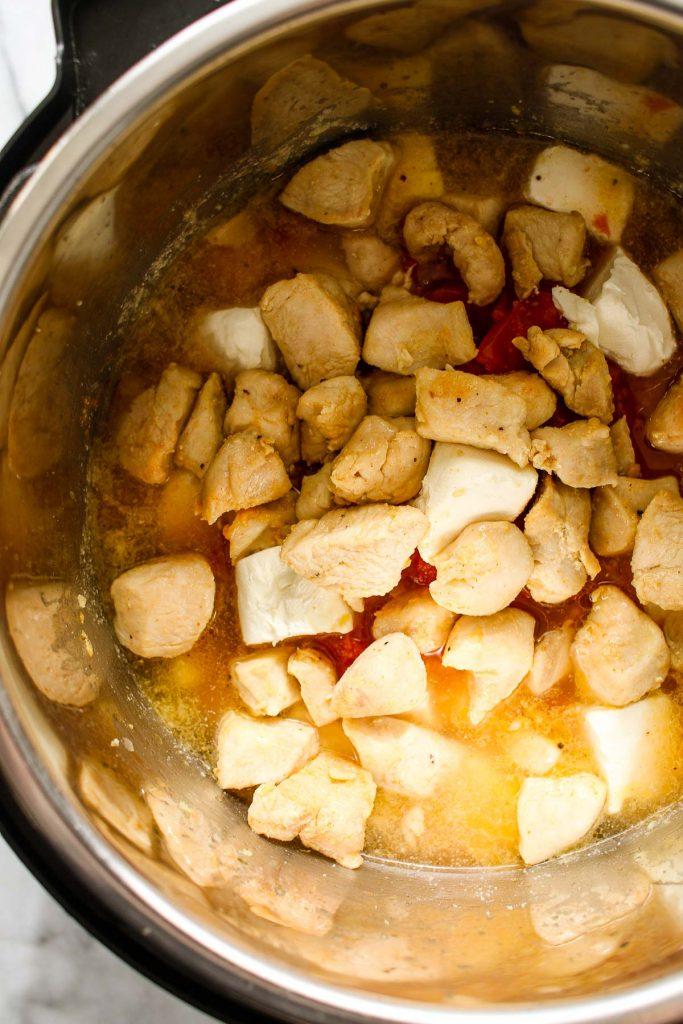 chicken spaghetti Instant Pot recipe