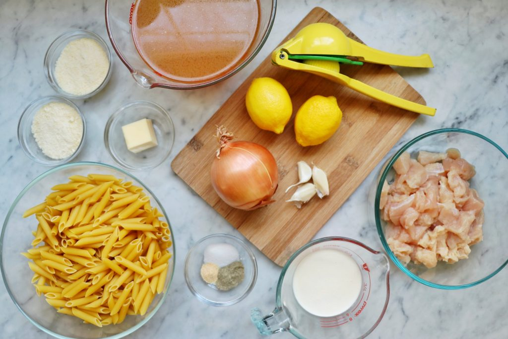 Instant Pot chicken pasta recipe