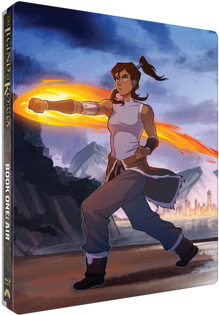 The Legend of Korra – The Complete Series Limited Edition Steelbook Collection
