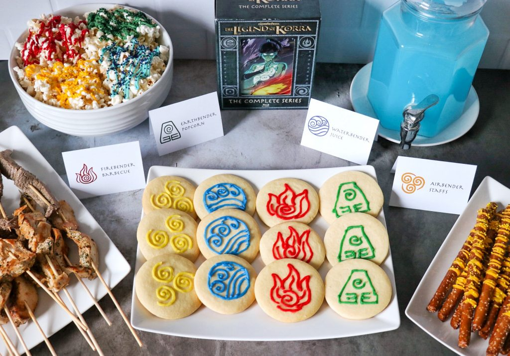 Avatar the Last Airbender party ideas