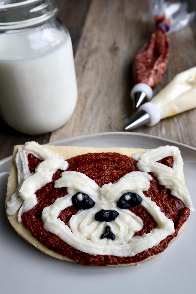Pabu cookies for a Legend of Korra birthday party