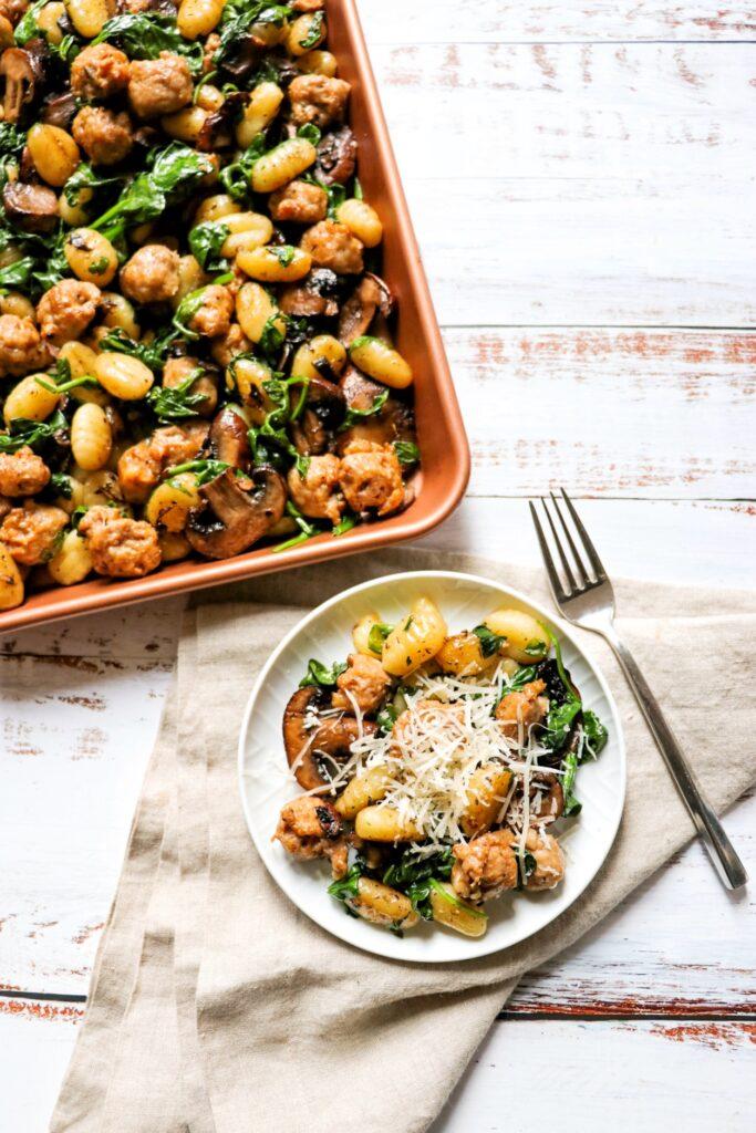 Sheet Pan Gnocchi and Sausage recipe