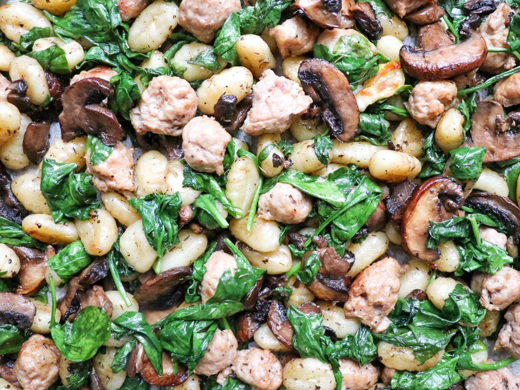 easy gnocchi sheet pan recipe