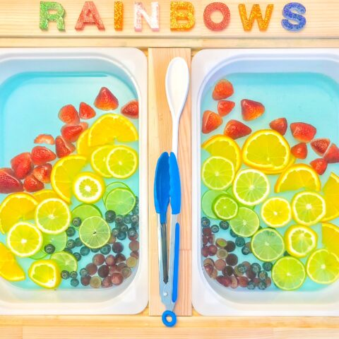 spring sensory table ideas: spring sensory bins for toddlers
