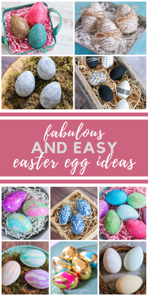 Fabulous (and easy) Easter Eggs