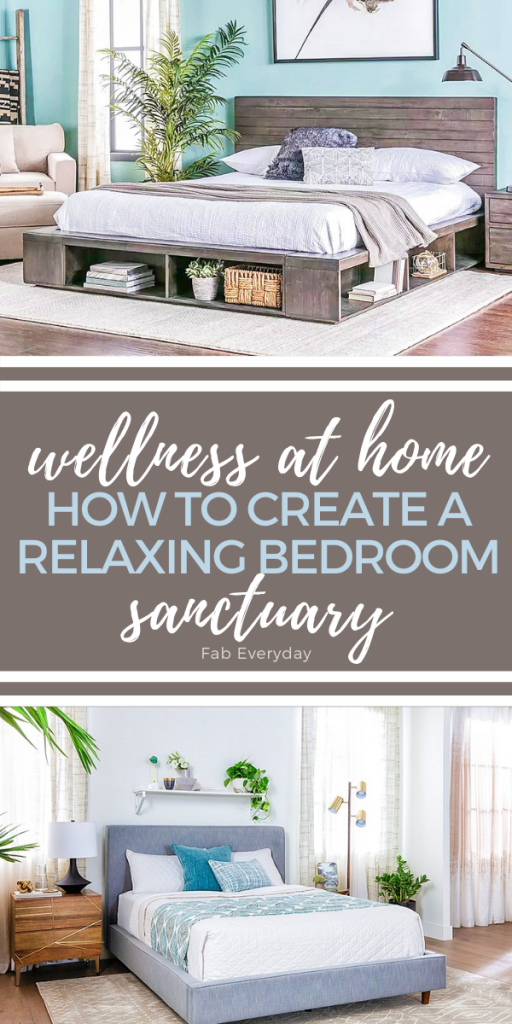 Wellness at home: How to create a relaxing bedroom sanctuary