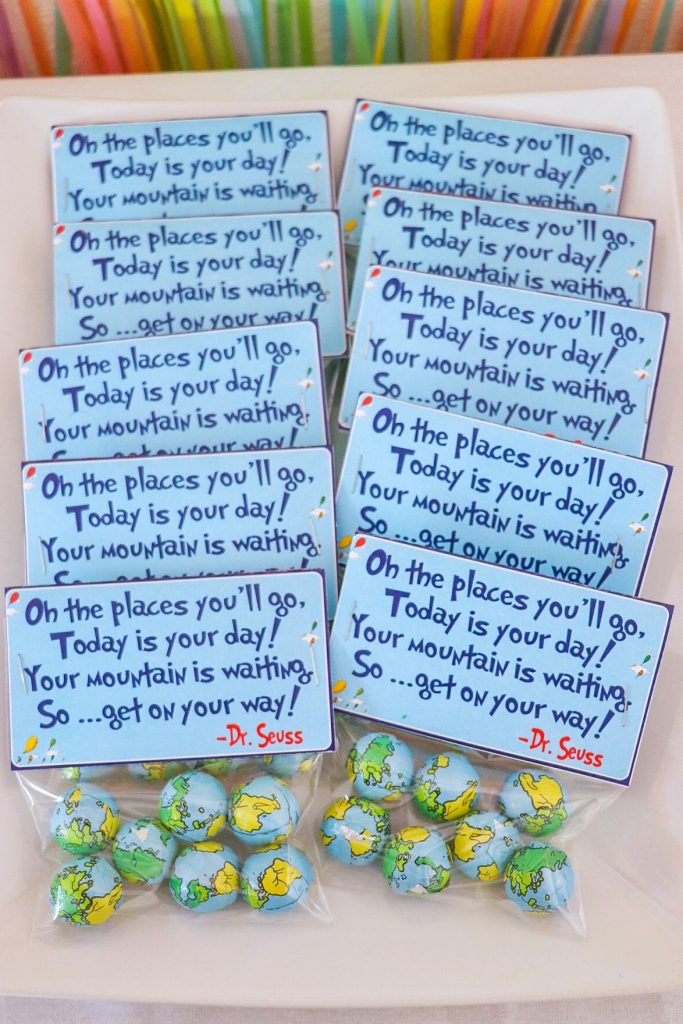 oh the places youll go party favors