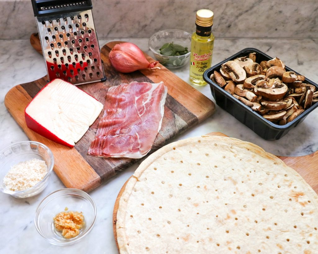 truffle pizza recipe ingredients