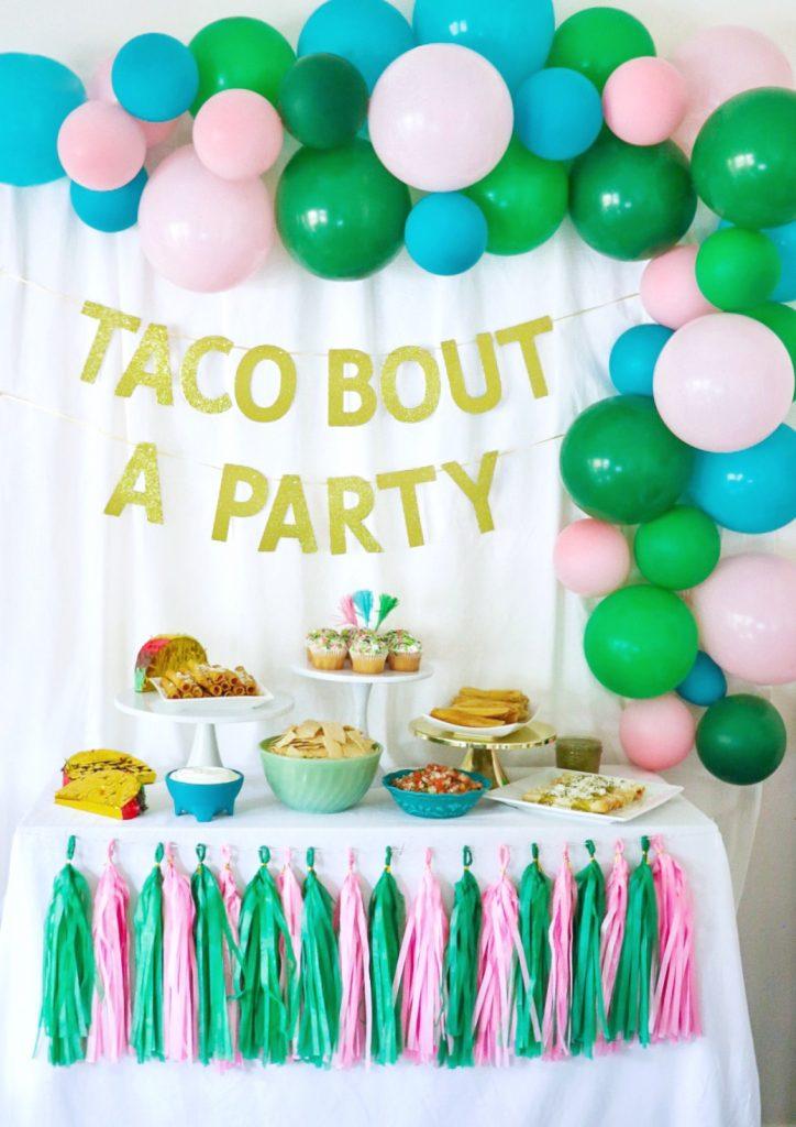 taco bout a party Cinco de Mayo decorations