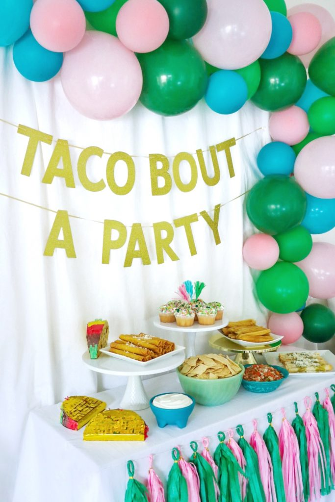 taco bout a party decorations