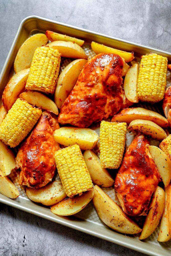 baked BBQ chicken breast recipe