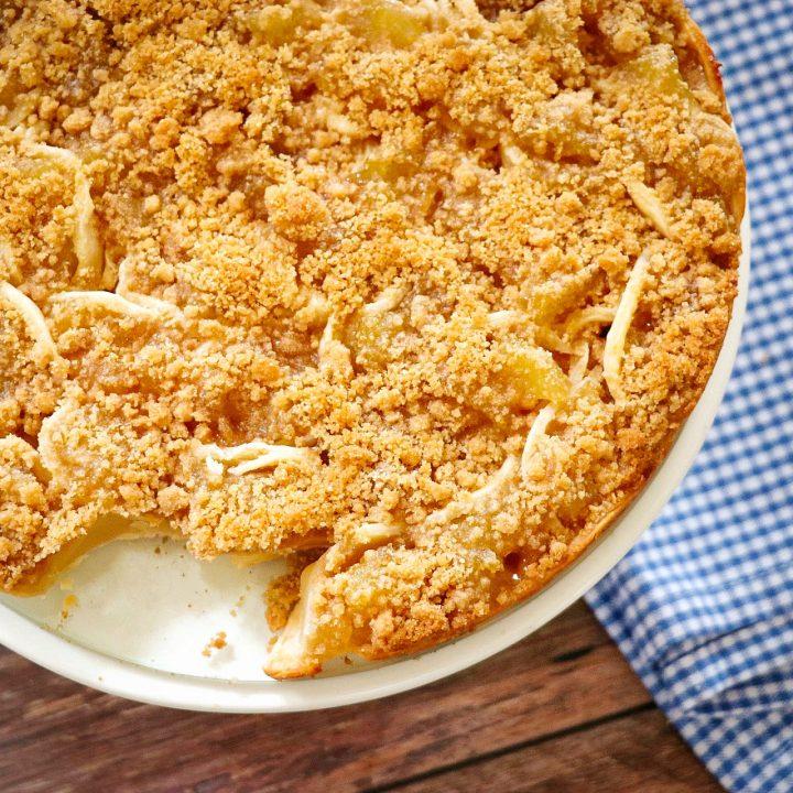 Dutch Apple Pull-Apart Pie recipe