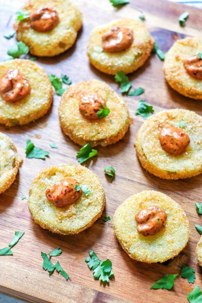 fried green tomatillos