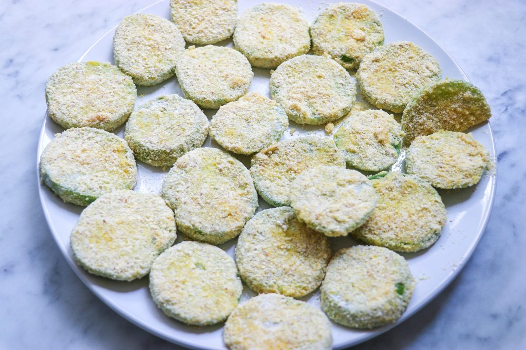 tomatillo fried green tomatoes