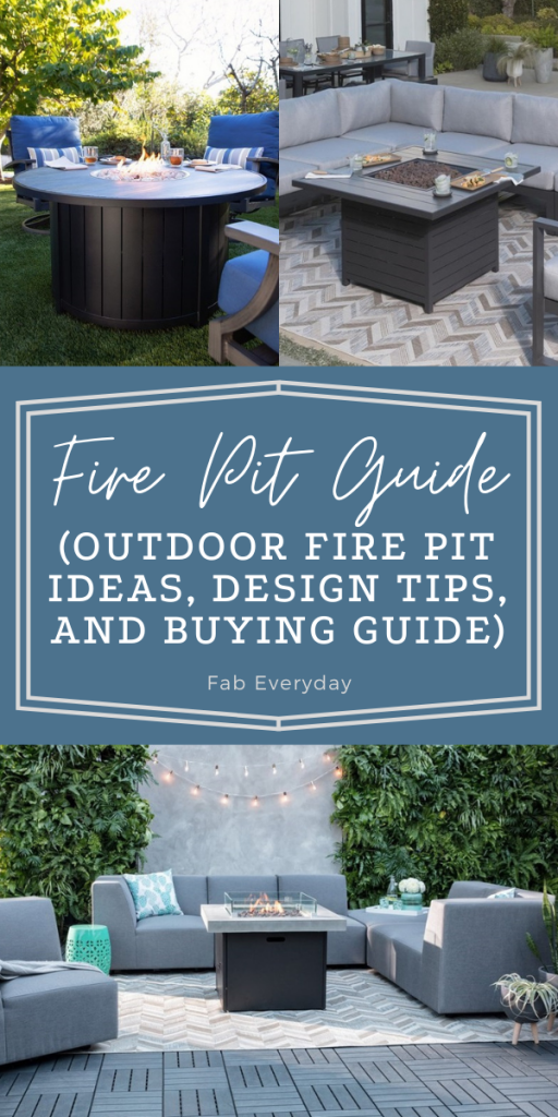 Fire Pit Guide (outdoor fire pit ideas, design tips, and buying guide)
