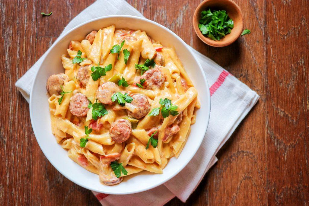 Instant Pot sausage pasta
