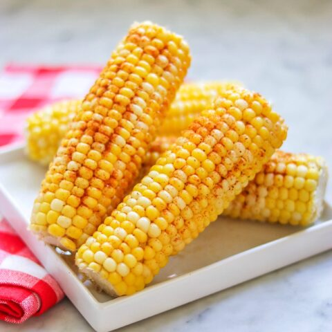 Pressure cooker corn on the cob with Old Bay seasoning