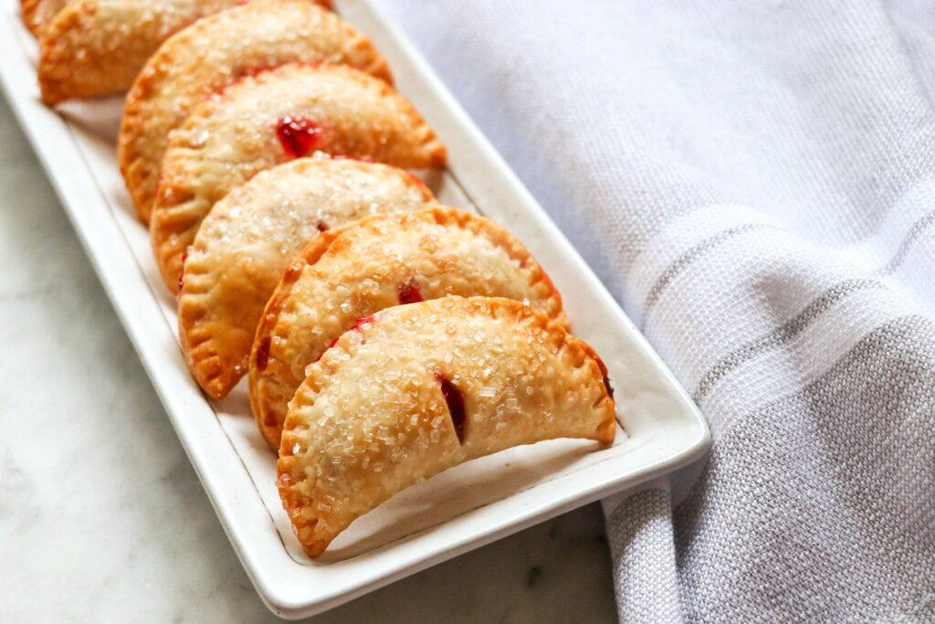 Mini Air Fryer Cherry Hand Pies (picnic dessert recipe ideas)