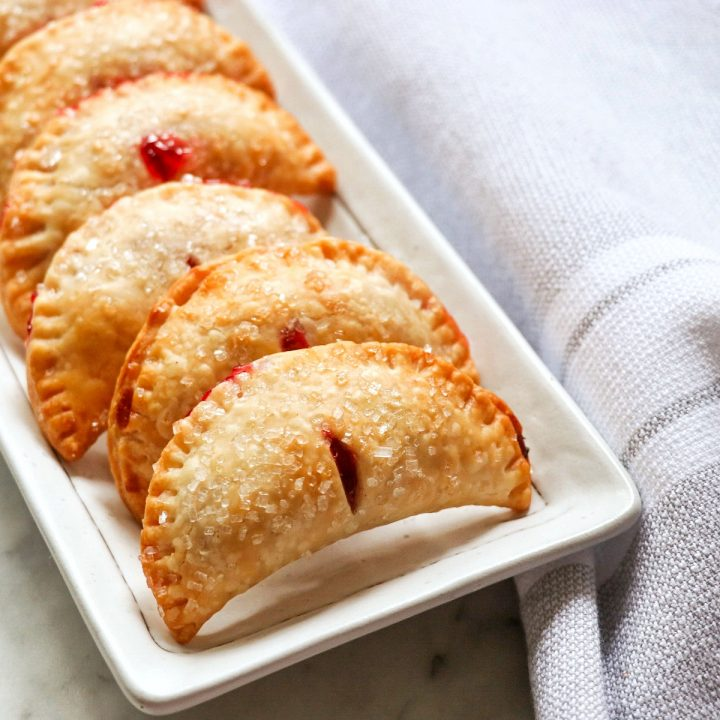 Mini Air Fryer Cherry Hand Pies