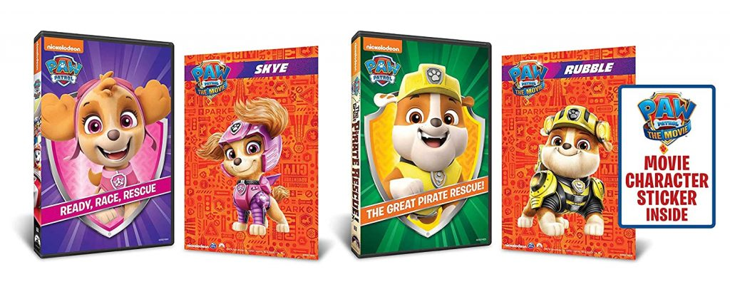 PAW Patrol Party Games and Activities: PAW Patrol DVD Marathon (Ready, Race, Rescue/The Great Pirate Rescue 2-Pack)