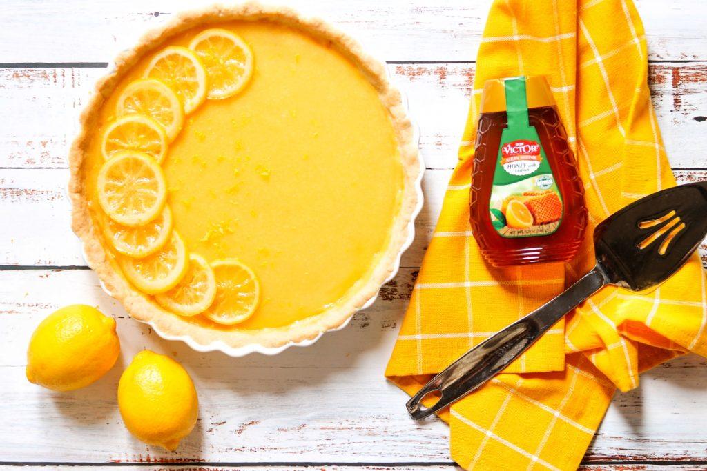 honey lemon tart