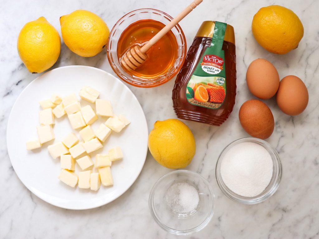 honey lemon tart recipe