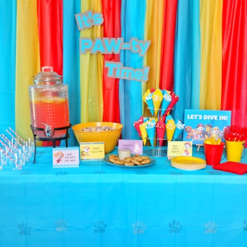 PAW Patrol Party Ideas (Food, Decorations, Games, and Free Printables)