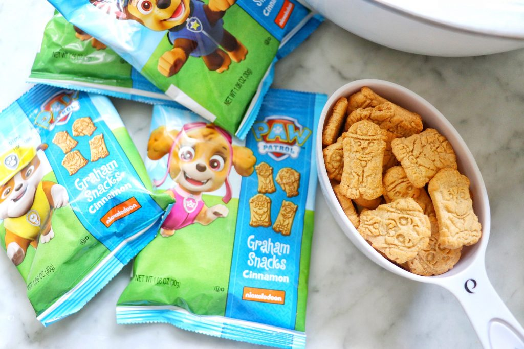 Rubble's Puppy Chow recipe (PAW Patrol party ideas)
