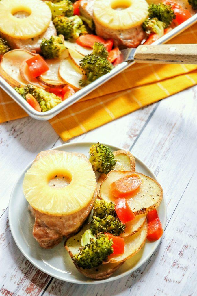 oven baked pineapple pork chops
