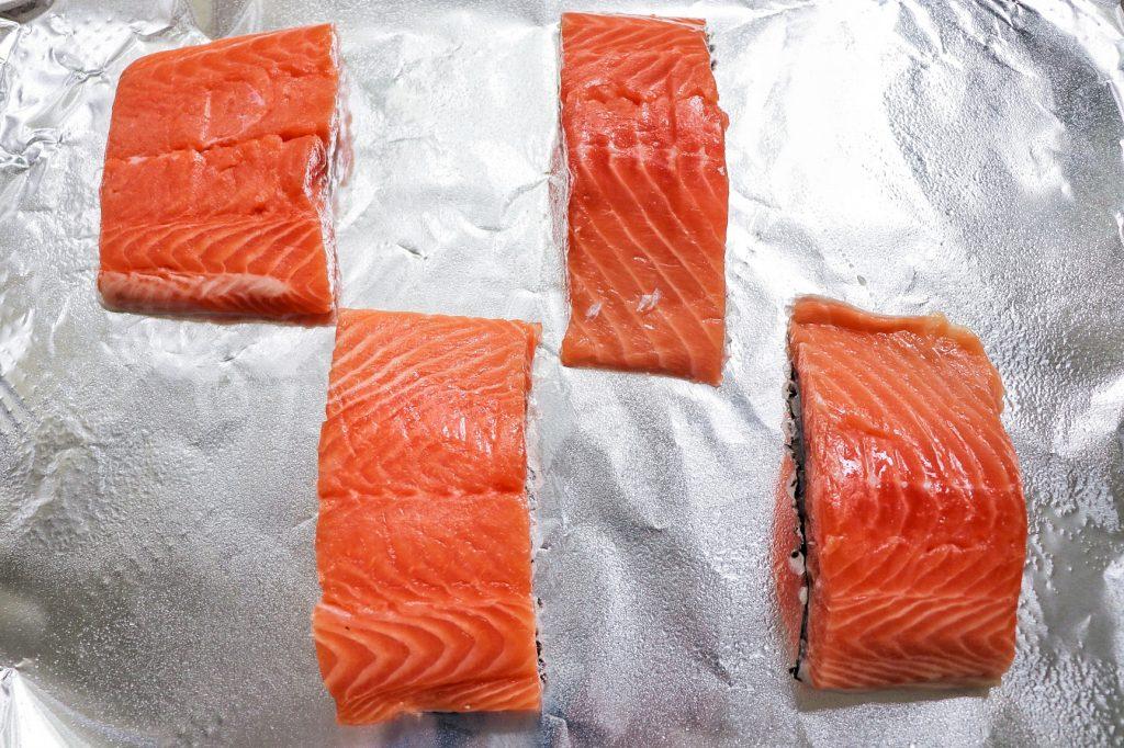 one pan teriyaki salmon dinner