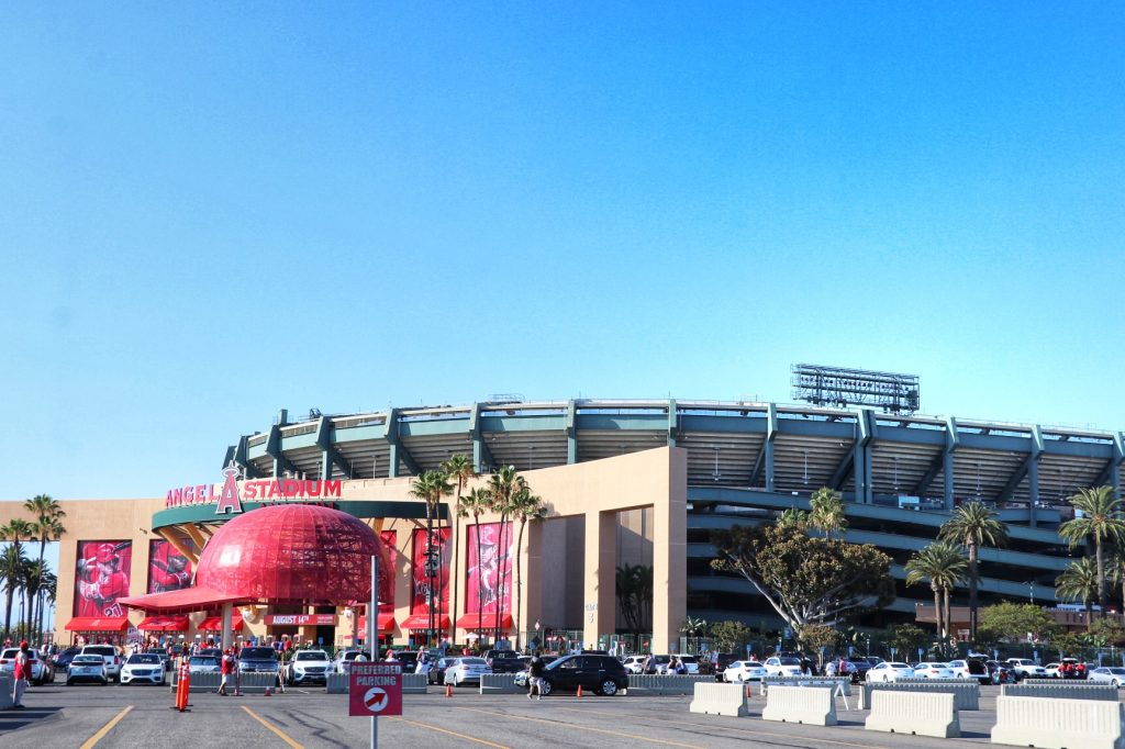 how to get to Angel Stadium