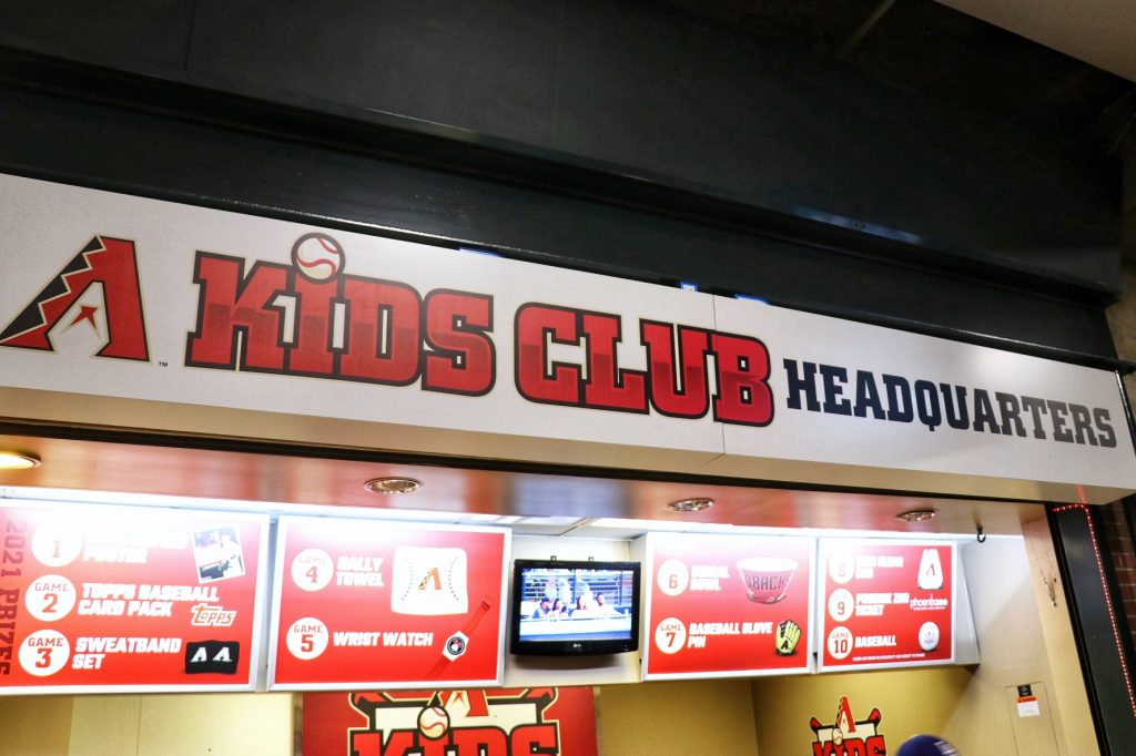Dbacks kids club