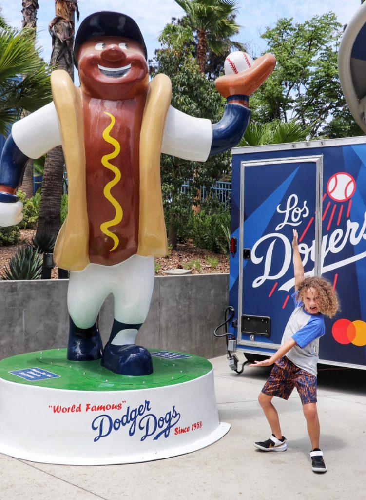 Dodgers kids activities