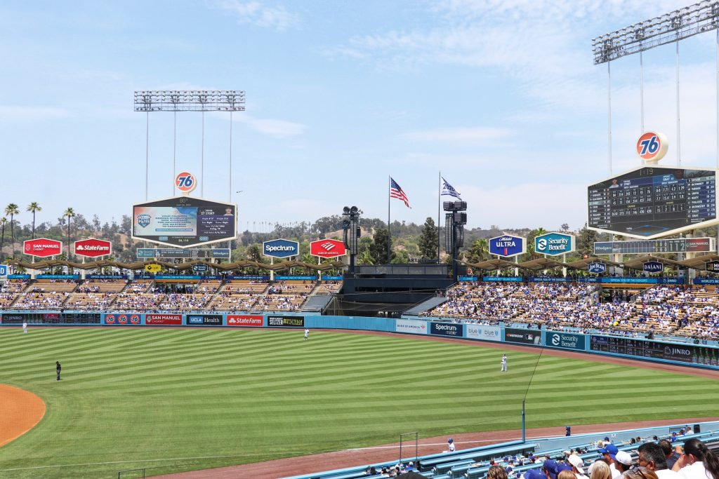 Visiting Los Angeles for a Dodgers Game
