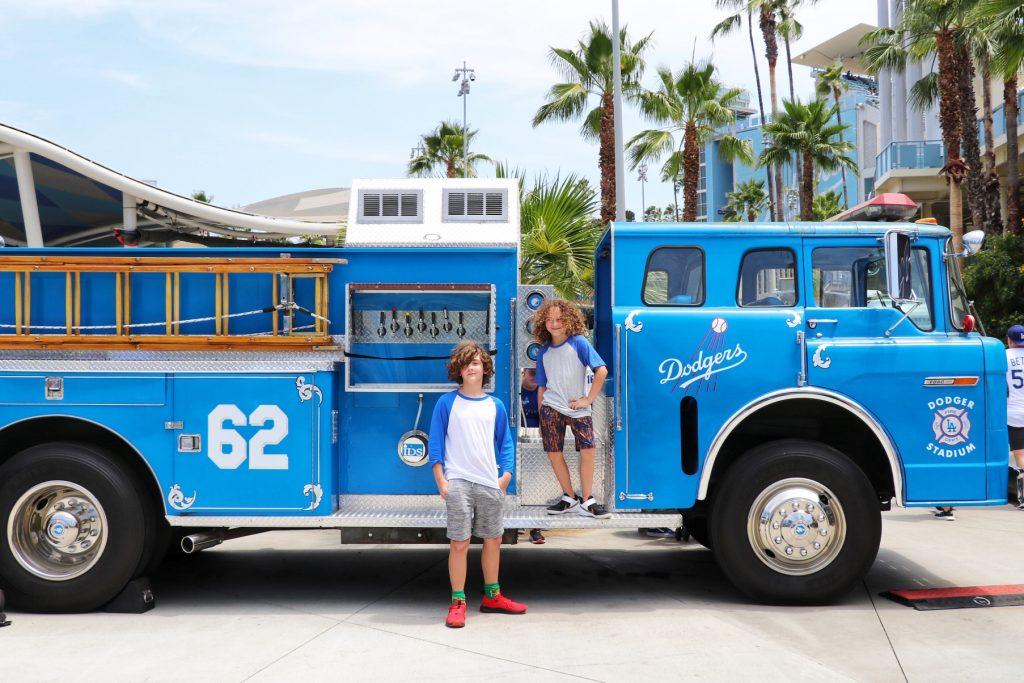 Dodgers kids activities at Dodger Stadium