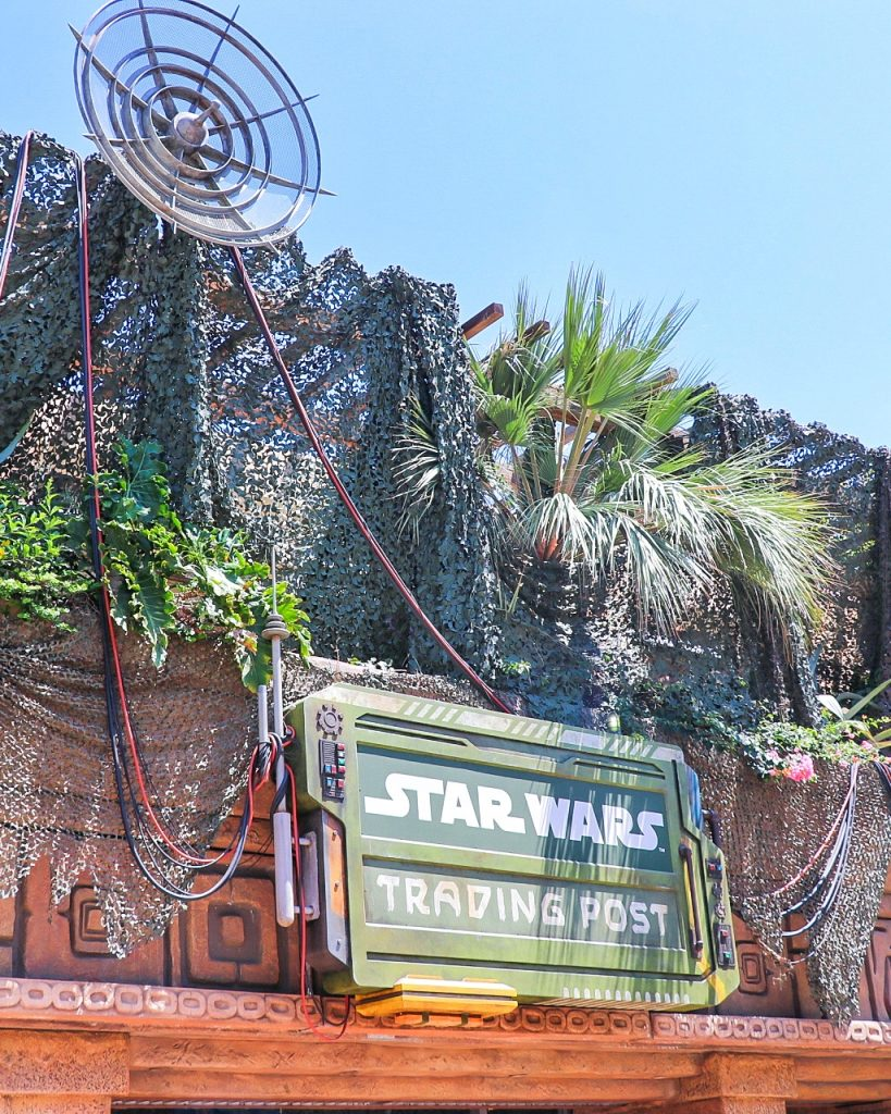Tips for a Trip to Anaheim for an Angels Game - Visit Downtown Disney! Star Wars Trading Post