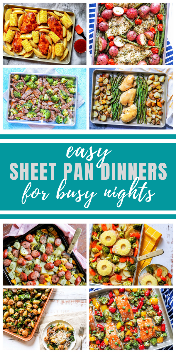 Easy sheet pan dinners for busy nights