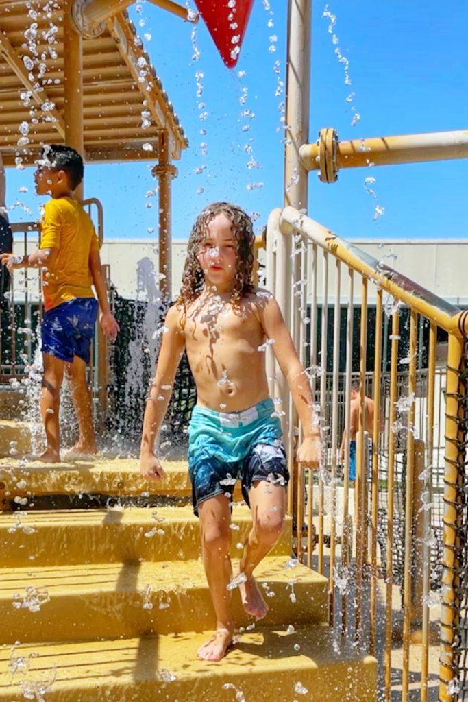 Best hotel near Angel Stadium: Hilton Anaheim. Our kids loved the pool and kid's splash zone