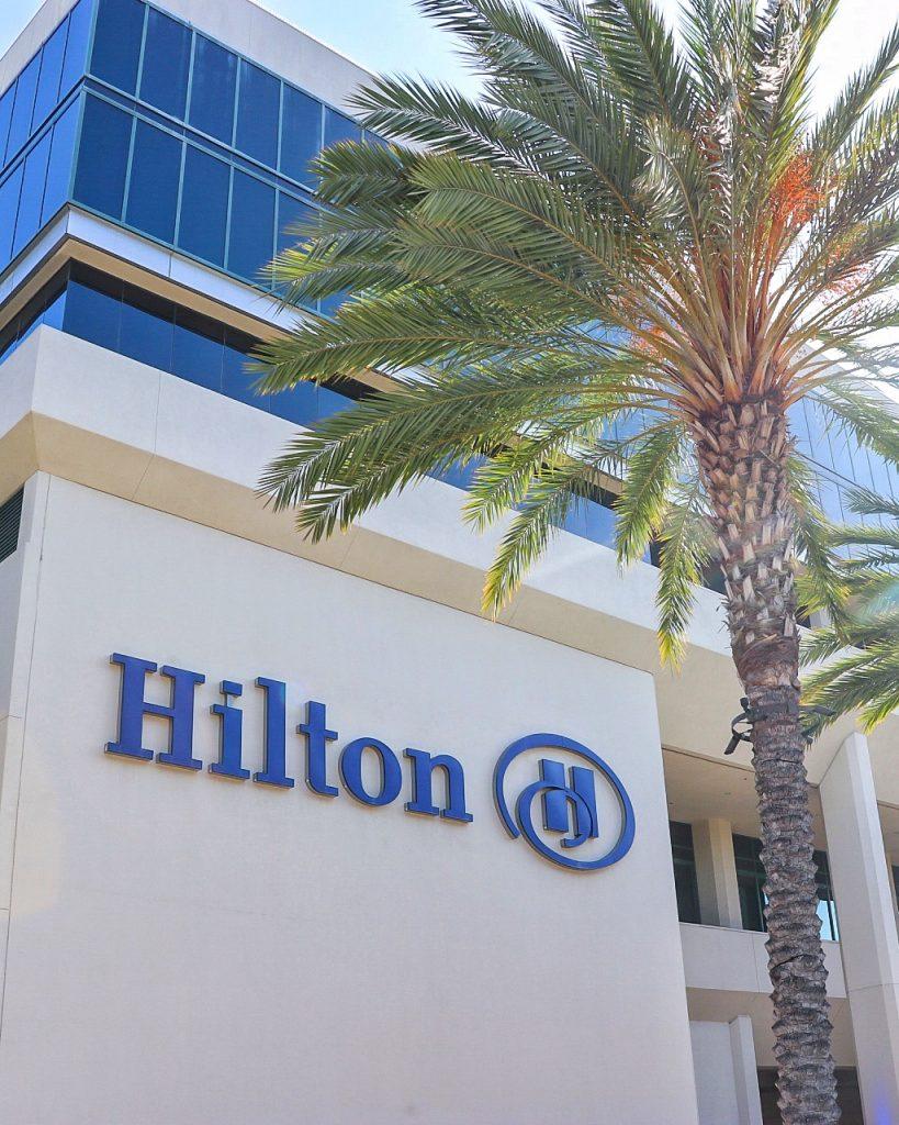 Best hotel near Angel Stadium: Hilton Anaheim