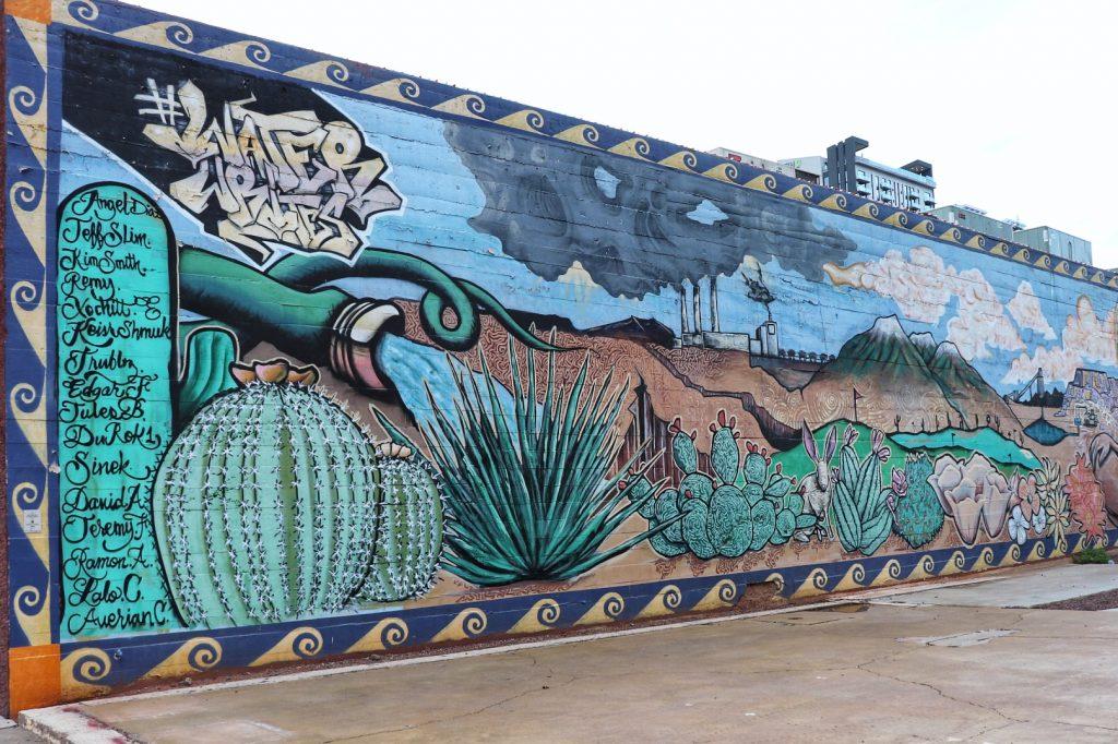 Phoenix downtown street art