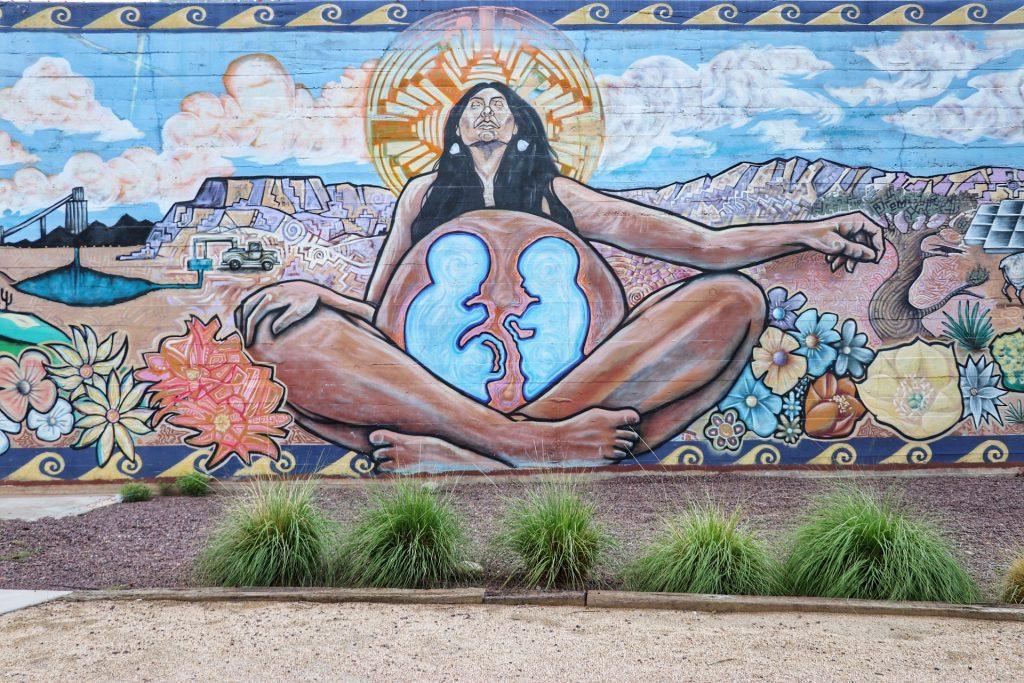 "Phoenix street art: ""Water Is Life"" mural in downtown Phoenix"