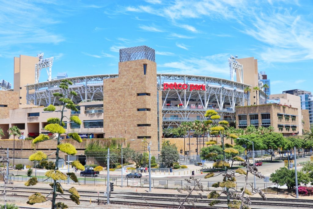 Family things to do in San Diego - see a Padres game at Petco Park