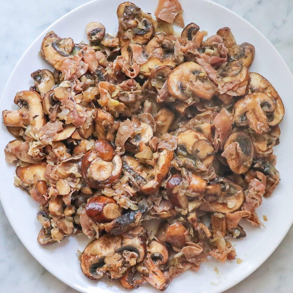 Instant Pot mushroom pasta