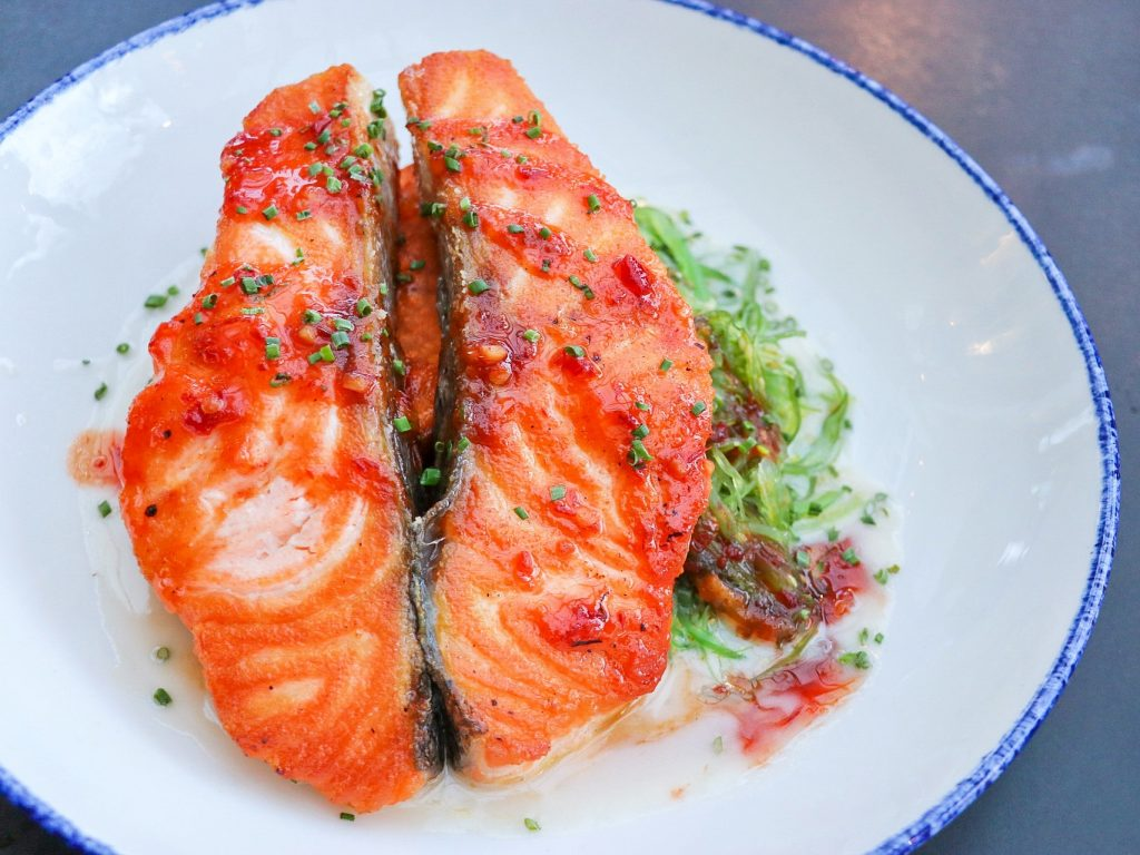 Where to eat in Los Angeles: Loch Duarte Salmon at Beachside restaurant in Marina del Rey