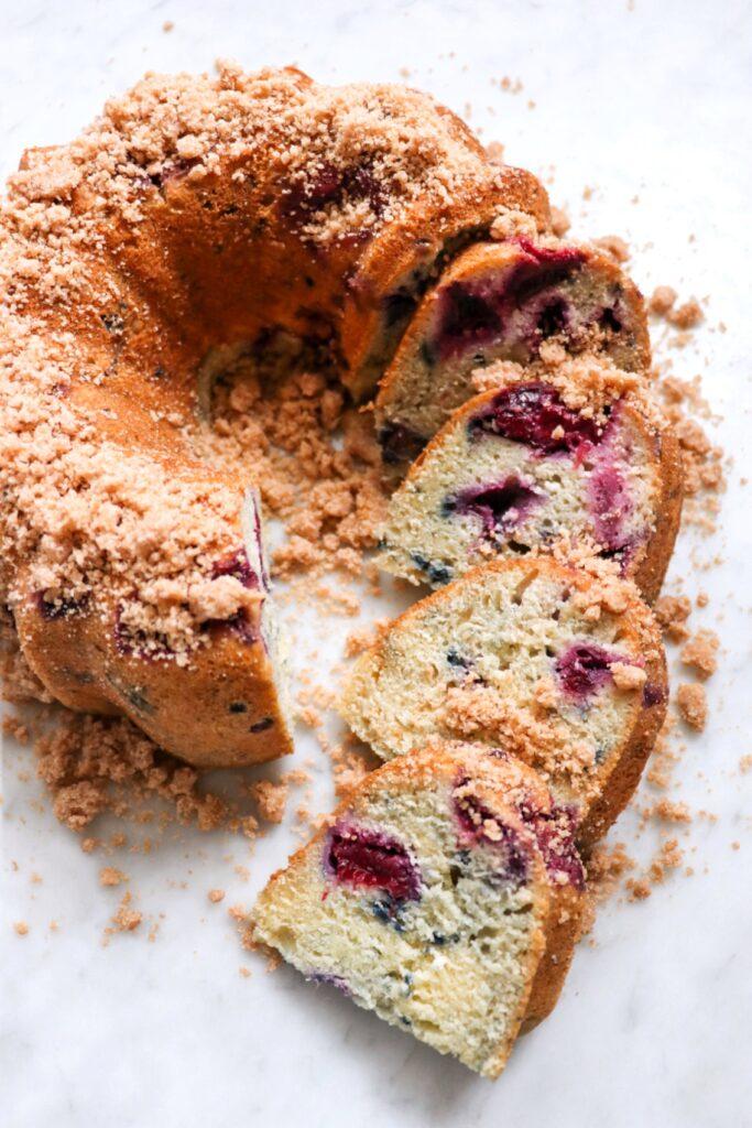Instant Pot plum Bundt cake (delicious pressure cooker cake recipe)