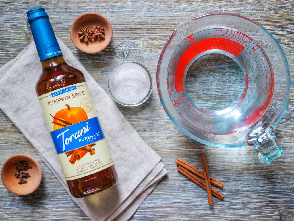 how to make pumpkin spice apple cider