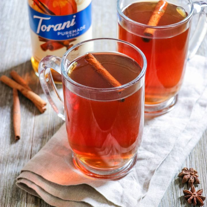 Sugar-Free Hot Pumpkin Cider recipe (the best non-alcoholic drinks for fall)