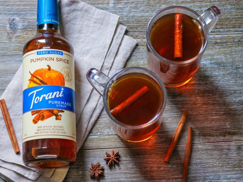 Fall non alcoholic drinks: Sugar-Free Hot Pumpkin Cider recipe