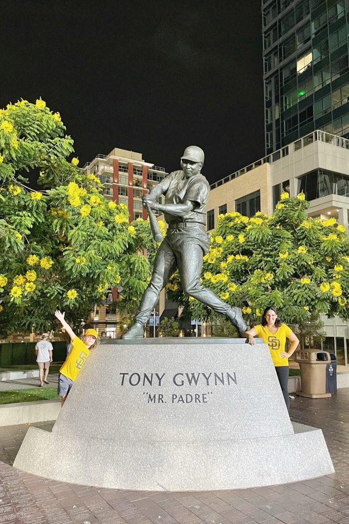 Tony Gwynn statue at Petco Park
