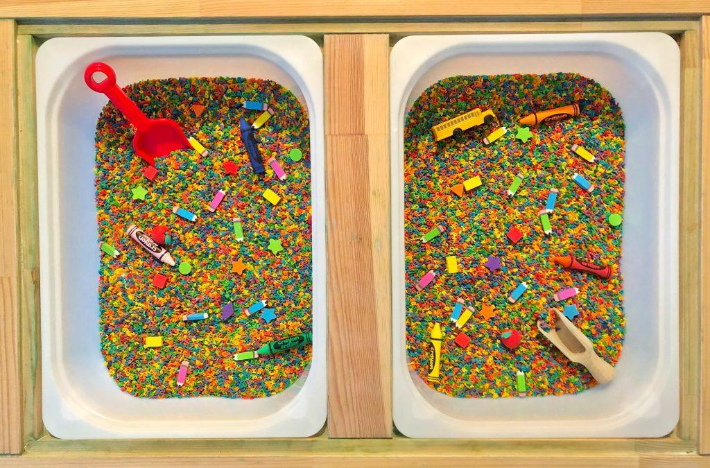 back to school sensory bin ideas (sensory bins toddler)